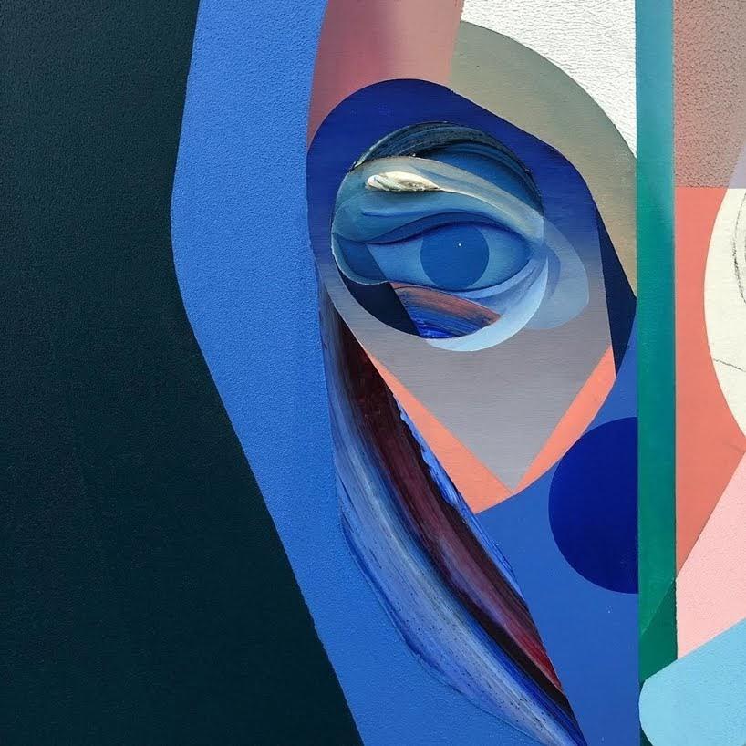 Colores brillantes con impasto gestual son los Retratos imponentes de Ryan Hewett