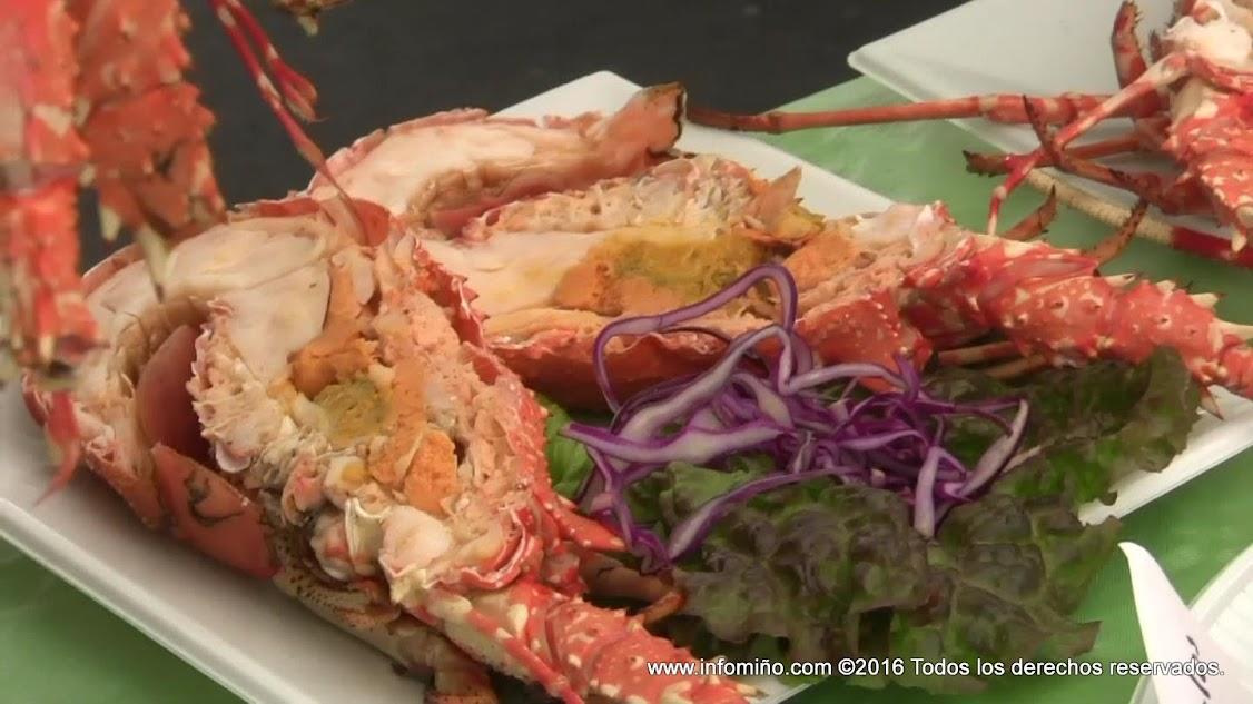 Gastronomía A Guarda - Langosta