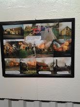 Photo: Foto från när bagare Johansson hus blev brand övning 29 april 1989 för att ge plats åt det hyreshus som nu finns på platsen.