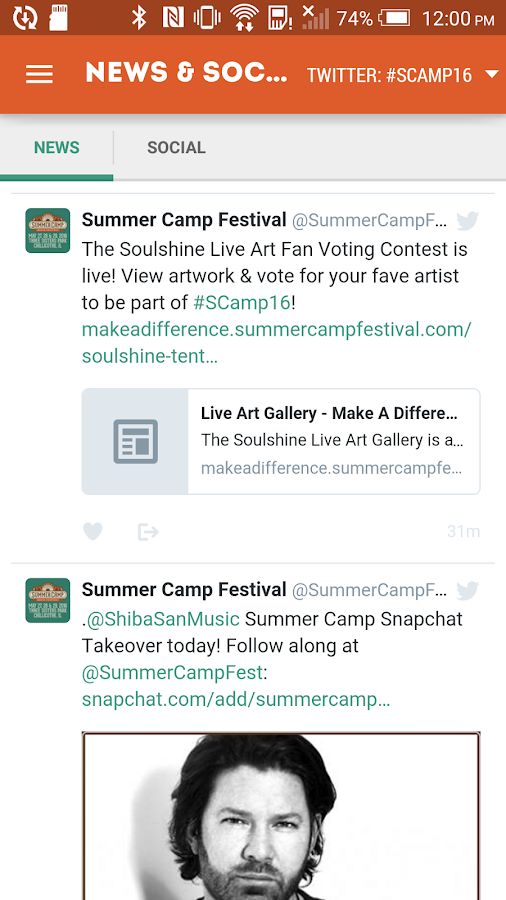 Summer Camp Music Festival- screenshot