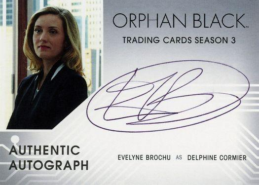 Orphan Black Trading Cards Season 3-Autograph