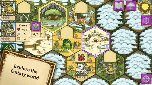 Griblers: offline RPG / strategy game screenshots 2