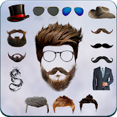 Beard Man Photo Editor Hairstyles Mustache Saloon