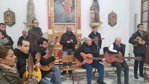 Cuadrilla de ánimas en la parroquia de San Isidoro