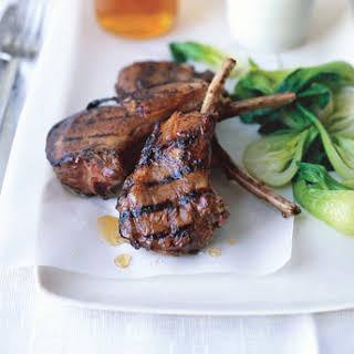 Chinese Char Siu Grilled Lamb Chops.