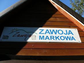 Photo: półprzypadkowe lądowanie w Zawoi Markowej :P