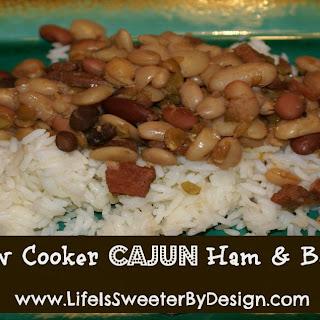 Cajun Ham and Beans.