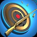 Shooting Hero: Gun Shooting Range Target Game Free icon