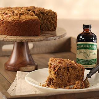 Spiced Vanilla Rum Cake (gluten-free)
