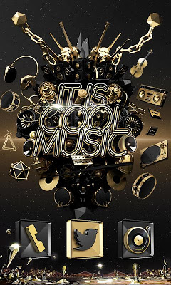 Cool Music GO Launcher Theme - screenshot