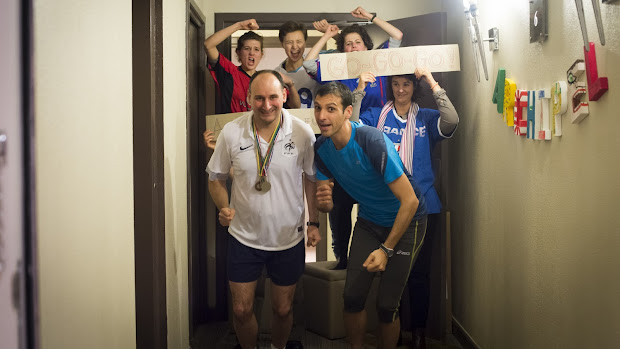 L'Arche à Paris au Semi-Marathon