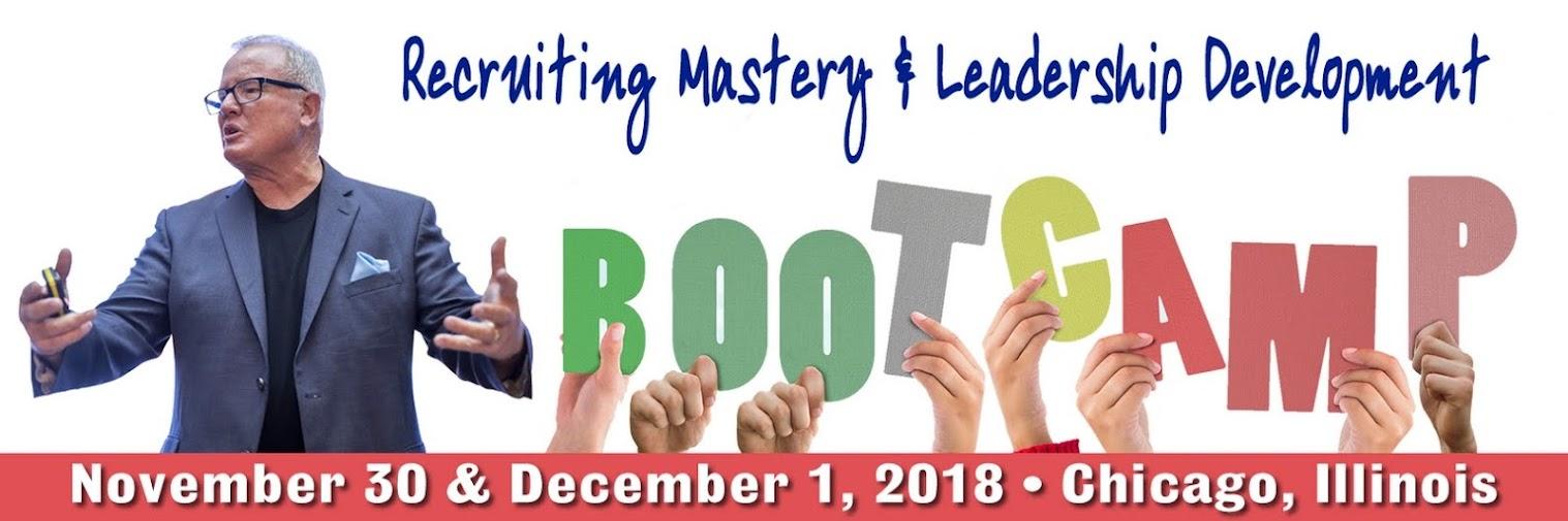 Recruiting Mastery & Leadership Development Bootcamp!
