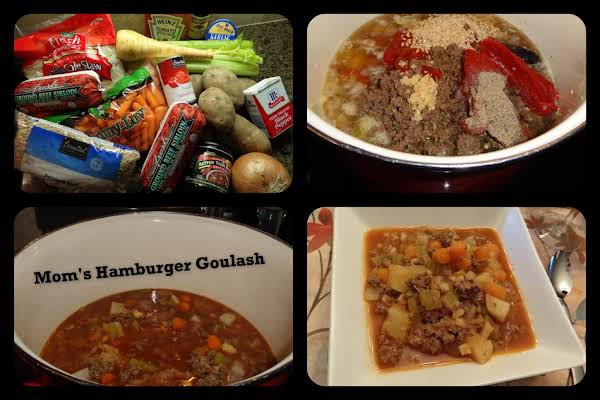 Mom's Hamburger Goulash