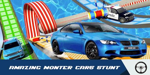Car Stunts Racing 3D - Extreme GT Racing City android2mod screenshots 6