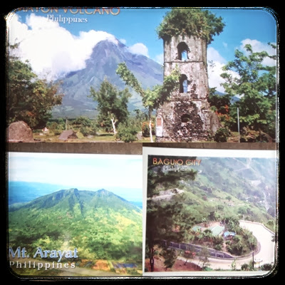 postcards, postcrossing, Philippines