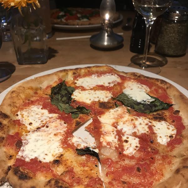 Gf Marguerita Pizza @ Random Tavern at the Kedron Valley Inn S. Woodstock VT