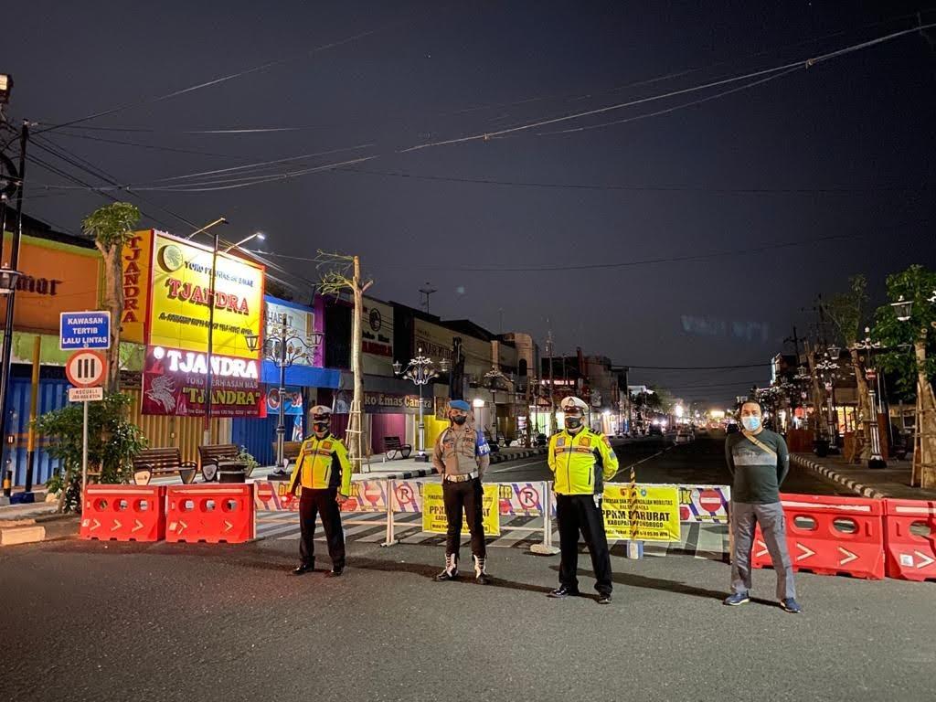 Polres Ponorogo Tingkatkan Patroli Malam di Masa PPKM Darurat