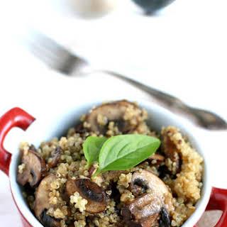 Garlic Mushroom Quinoa..