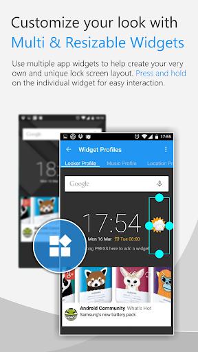 C Locker Free (Widget Locker) screenshot 5