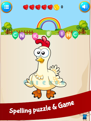 ABC Alphabet animal learning games English phonics 1.0.0 screenshots 9