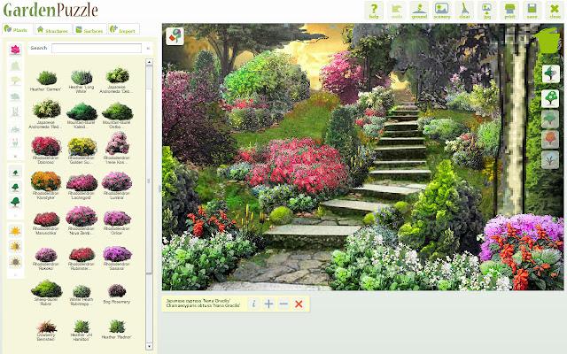 GardenPuzzle Garden Planner Chrome Web Store