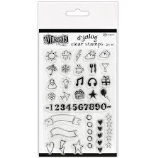 Dylusions Clear Stamps 4X6 - The Full Package