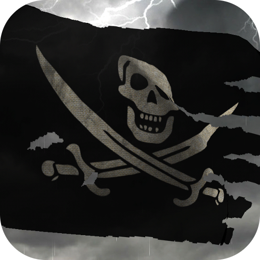 3D Pirate Flag