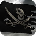 3D Pirate Flag + icon
