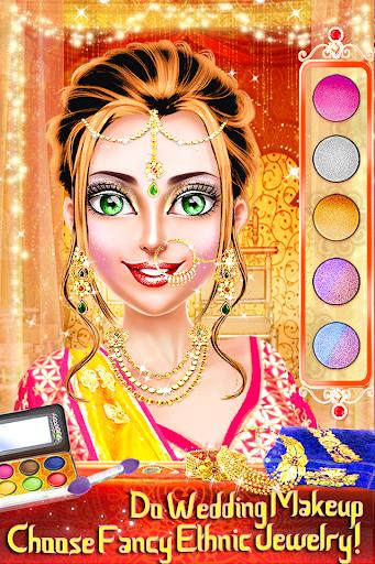 Traditional Wedding Salon - Makeup & Dress up Game 2.0.8 screenshots 1