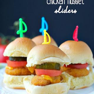 Chicken Nugget Sliders