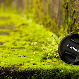 The Canon I use to Shoot!!! by Gobi Jagan - Artistic Objects Technology Objects ( canon, lid, camera, cameralid, minimal, lenscap, lens )
