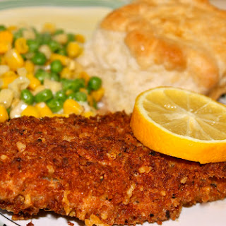 Panko and Italian Herb~Crusted Perch Filets!.