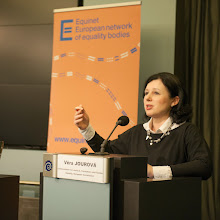 Photo: Keynote Address by Vera Jourova, Commissioner for Justice, Consumers and Gender Equality