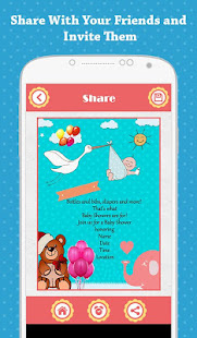 Baby shower invitation apps on google play screenshot image filmwisefo