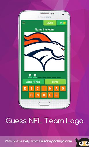 Guess NFL Team Logos 3.1.7z screenshots 1