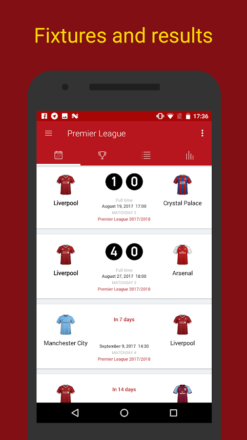Liverpool Live — Scores & News for Liverpool Fans- screenshot