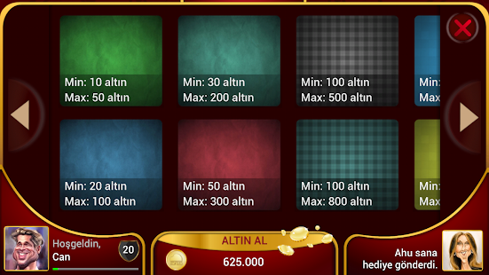 Gin Rummy Board Game - OKEY- screenshot thumbnail