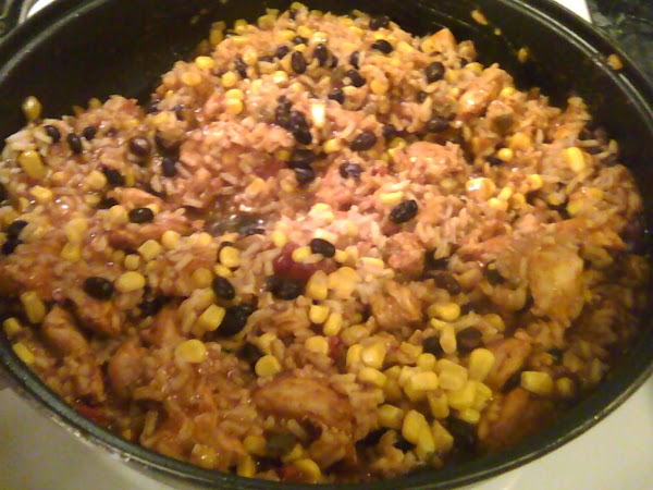 Saucy Salsa Chicken And Rice Recipe