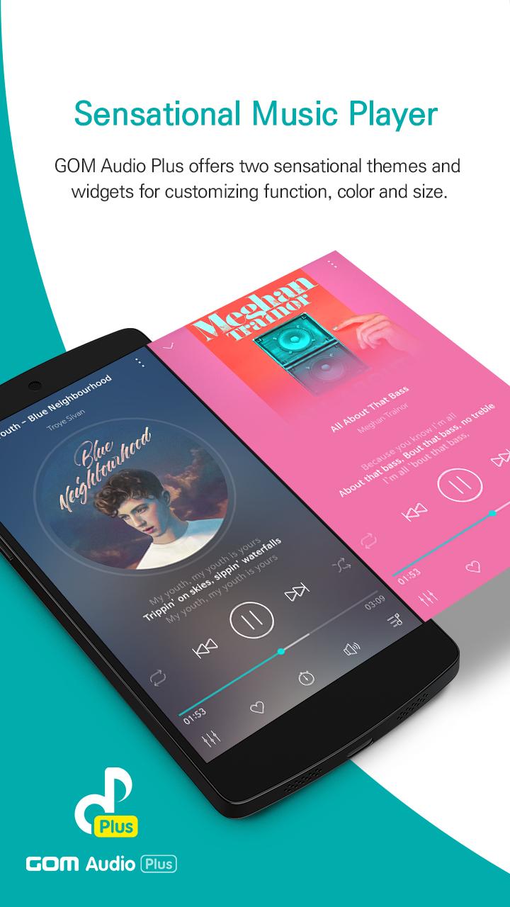 GOM Audio Plus - Music, Sync lyrics, Streaming Screenshot 0