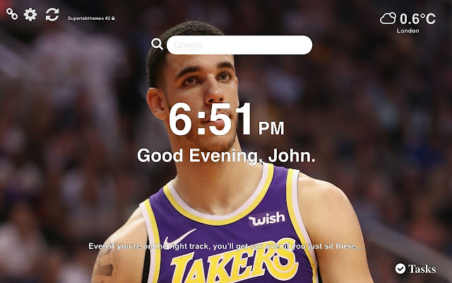 Lonzo Ball Wallpapers and New Tab