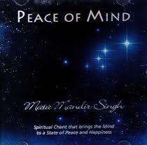 Peace of Mind - CD av Mata Mandir Singh