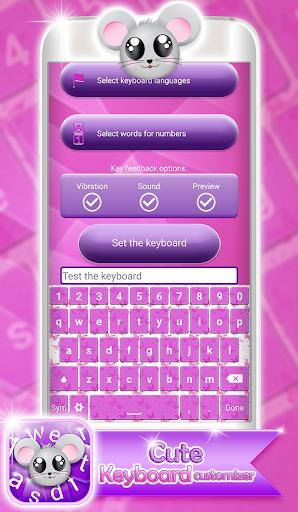 可愛いキーボード着せ替えアプリ