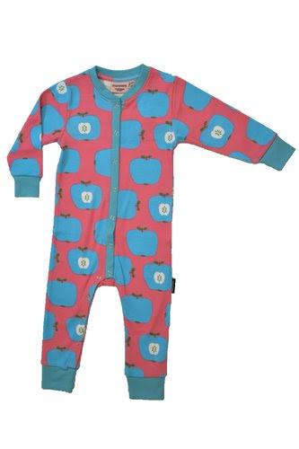 Moromini - Pyjamas Blue Apples