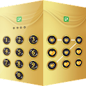 Applock Theme Gold icon