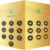 Applock Theme Gold