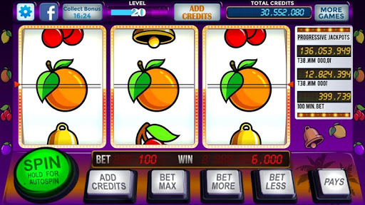 Slot Machine Vegas 777 Free Spins - screenshot