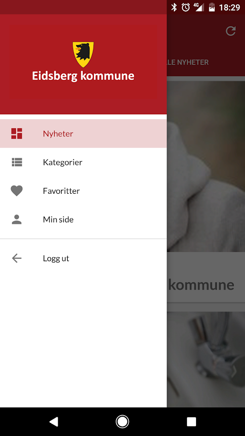 Eidsberg kommune- screenshot