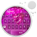 GO Keyboard Pink Light icon