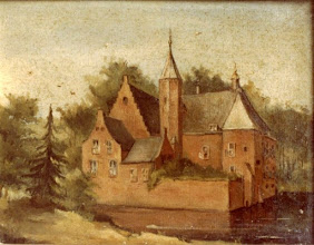 Photo: 1850 Schilderij Kasteel Emer