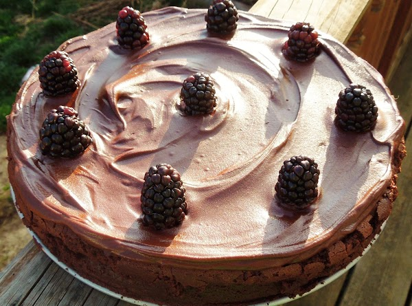 Refrigerate the cake until the glaze is set, 20 to 40 min. Before serving,...
